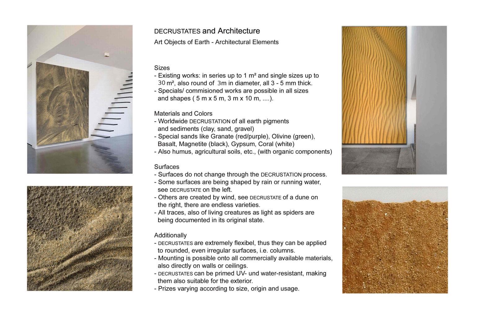 DECRUSTATES and Architecture 2019